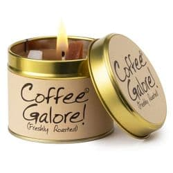 Lily-Flame Coffee Galore Scented Candle Tin   mochaberry