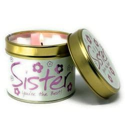 Lily-Flame Sister Scented Candle Tin | mochaberry