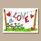 Love! - greeting card