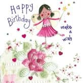 Make A Wish Birthday Card - Alex Clark S323