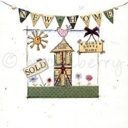 New Home Card | Vintage Greetings Cards | New Home Greetings Cards