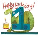 One For A Boy Birthday Card - Alex Clark S132