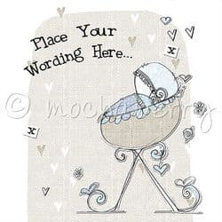 Personalised Baby Boy Cards | Baby Cards | Personalised Baby Cards