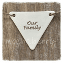Personalised Family Bunting - OUR FAMILY