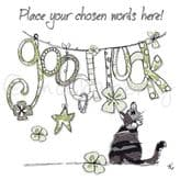 Personalised Good Luck Card PC37