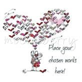 Personalised Heart Of Hearts Card PC71