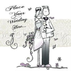 Personalised Wedding Card | Personalised Cards | Wedding Day Cards