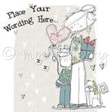 Personalised Lady With Little Boy Card PLC16