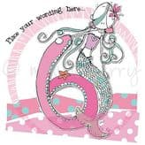 Personalised Six Today Girl Birthday Card PCK21