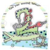 Personalised Two Today Boy Birthday Card PCK07