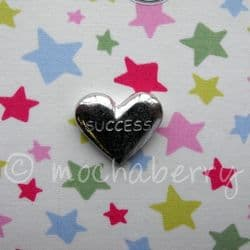 Pewter Token | Pewter Success Heart Token | Pewter Pocket Charm