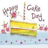 Piece Of Cake Birthday Card - Alex Clark S324