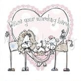 Pink Lion Family Card Personalised PLM33