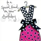 Special Friend - birthday greetings card