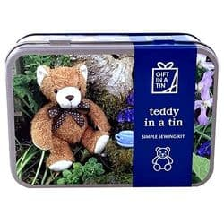 Teddy Sewing Kit | Craft Kit | Gift In A Tin