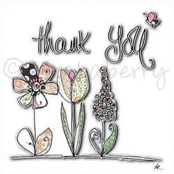 Thank You Cards | Thank You Greeting Card | Thank You So Much Card