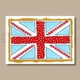 Union Jack - greeting card