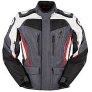 Furygan Apalaches Textile Jacket Black/Grey/Red