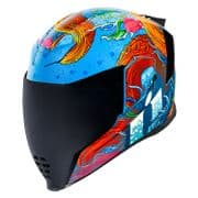 Icon Airflite Helmet Inky *includes Blue Dropshield