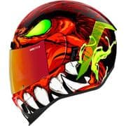Icon Airform Helmet Manik'R Red *incl Red RST Visor