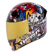 Icon Airframe Pro Helmet Lucky Lid 3 *includes Clear & RST Gold Optics Shield