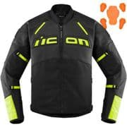 Icon Contra2 Textile Jacket Black/Hi-Vis