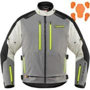 Icon Raiden Textile Jacket Grey