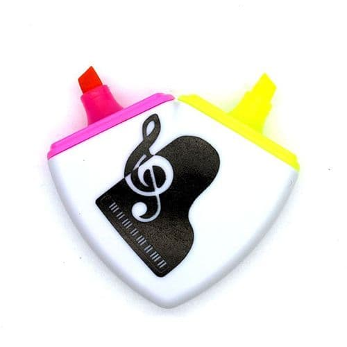 2 Colour Piano/Treble Clef Highlighter