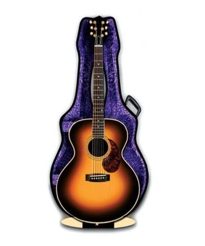 Acoustic Guitar 3D card by MGC