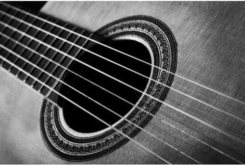 Acoustic Guitar Card by MGC