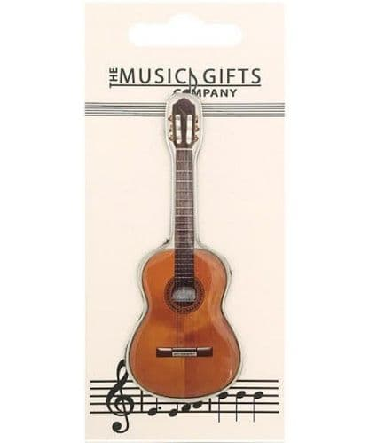Acoustic Guitar Fridge Magnet by MGC