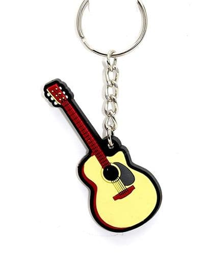 Acoustic Guitar Keyring by MD