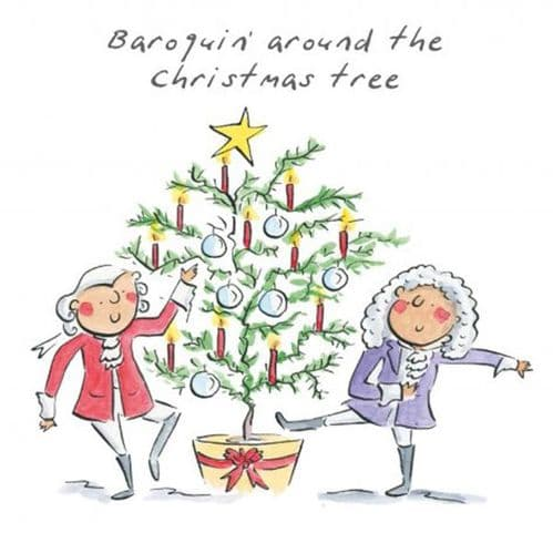 Baroquin Around The Christmas Tree by HM