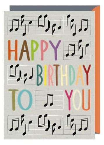 Birthday Card - Happy Birthday by Quire