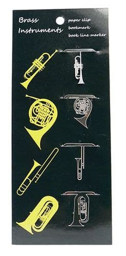 Brass Instrument Bookmarks by AGR