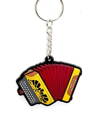 Button Accordion Keyring by MD