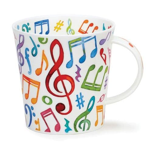 Cairngorm Music Upbeat Mug by Dunoon