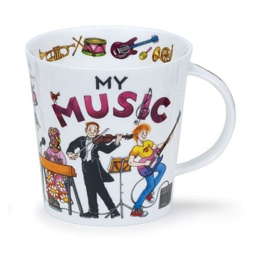 Cairngorm My Music Mug by Dunoon