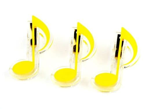 Clip - Quaver - Yellow by AGR