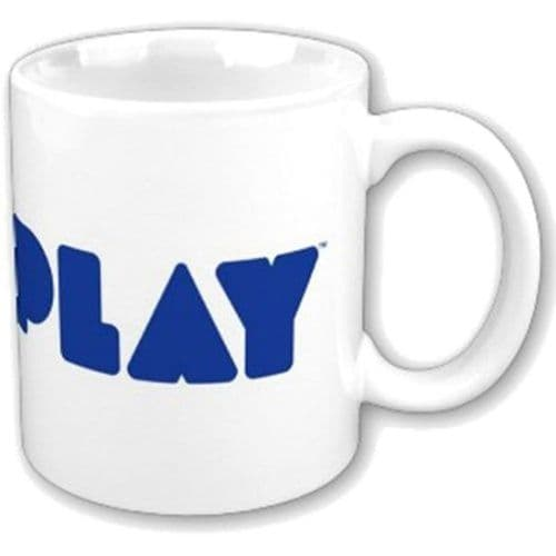 Coldplay Blue Logo Mug