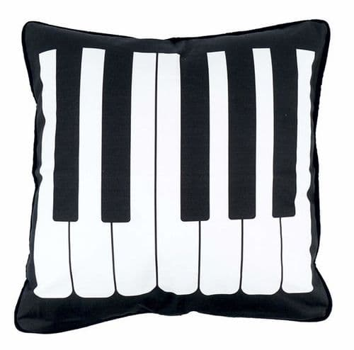 Cushion Cover - Piano Keys by AGR