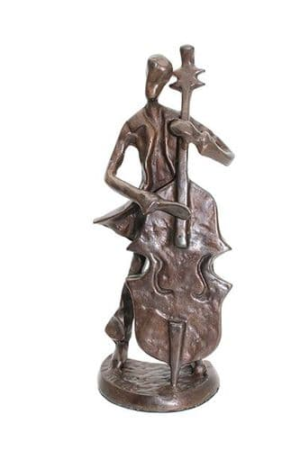 Double Bass Figurine by MS