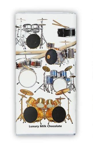 Drum Kit Chocolate Bar by GC