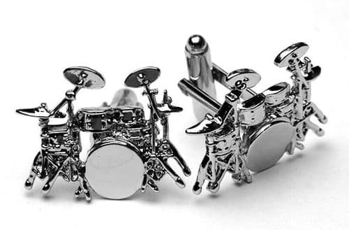 Drum Kit Cufflinks by Gifticuffs