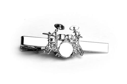 Drum Kit Tie Clip by Gifticuffs