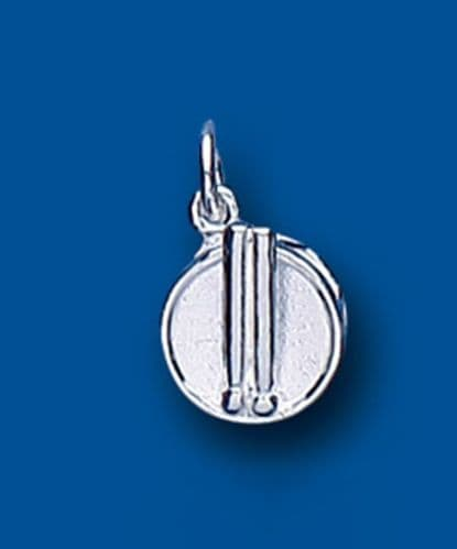 Drum Sterling Silver Charm
