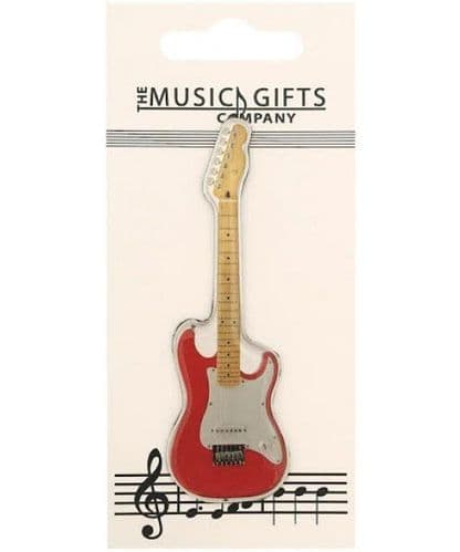 Electric Guitar Fridge Magnet by MGC