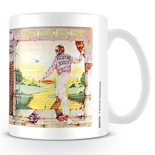 Elton John Yellow Brick Road Mug