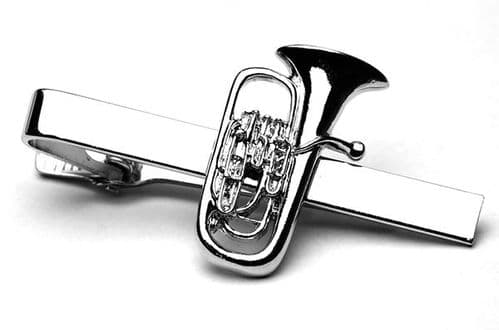 Euphonium Tie Clip by Gifticuffs