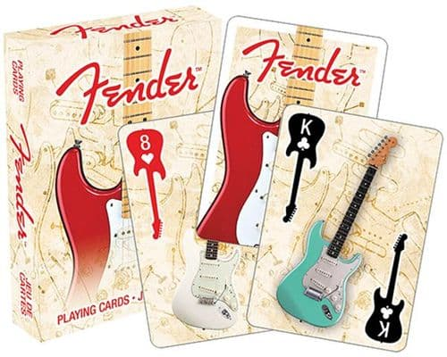 Fender Guitar Playing Cards by HL